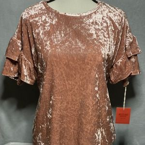 NWT Mossimo mauve solid top (size S)